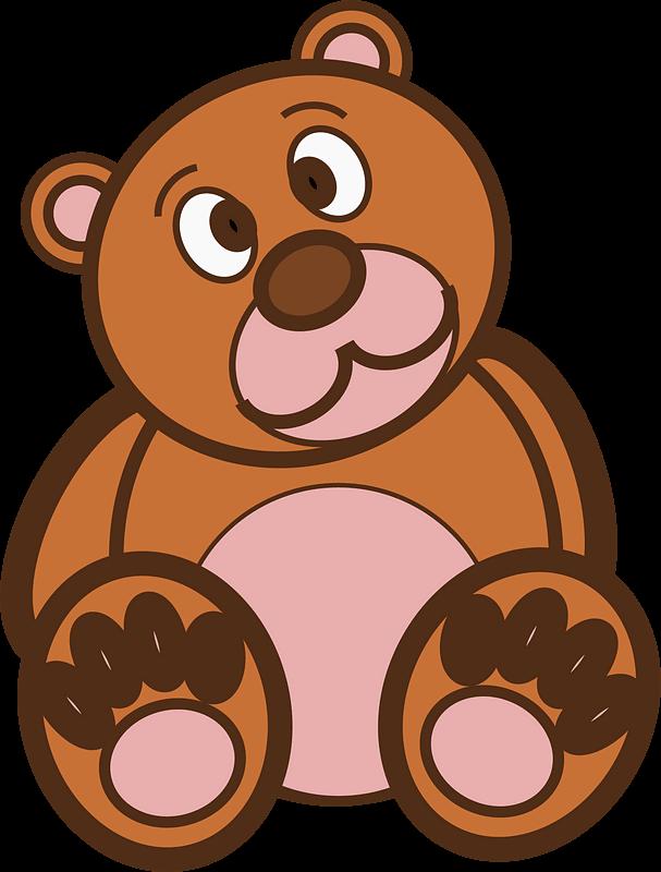Teddy Bear Clipart transparent background