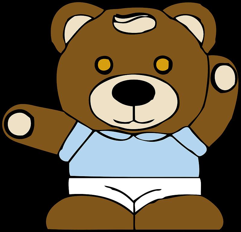 Teddy Bear Clipart transparent free