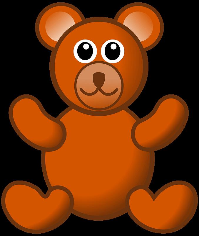 Teddy Bear Clipart transparent png