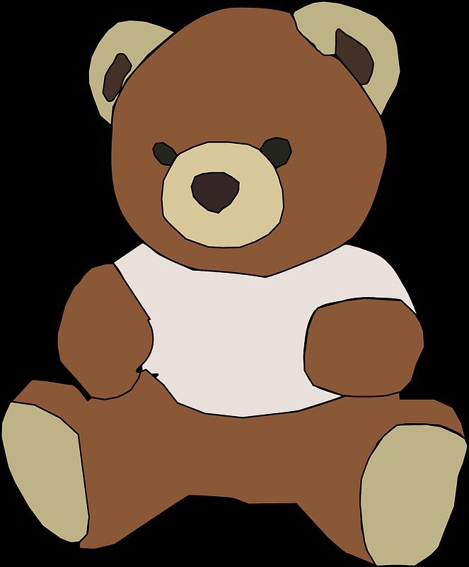 Teddy Bear Clipart transparent