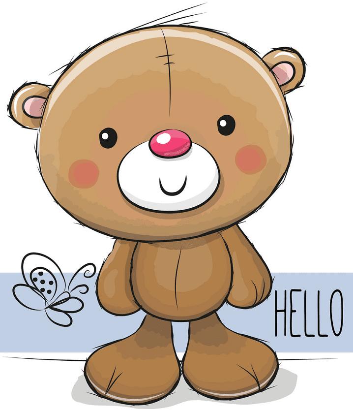 Teddy Bear clipart 6