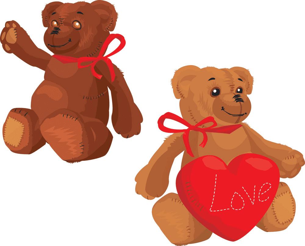 Teddy Bear clipart 7
