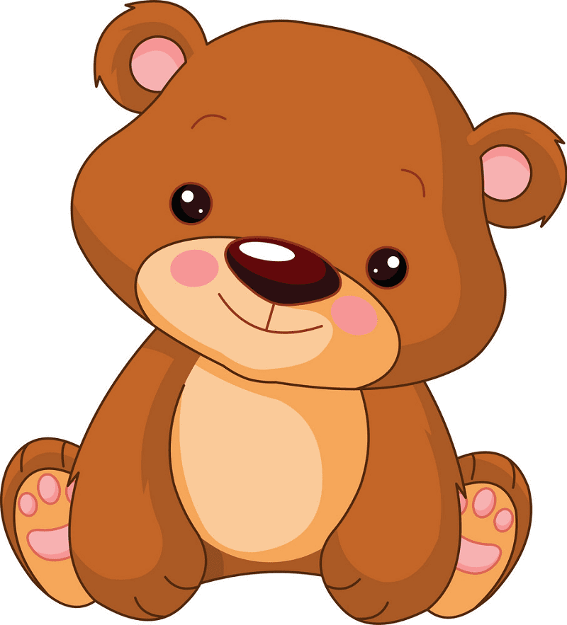 Teddy Bear clipart for free