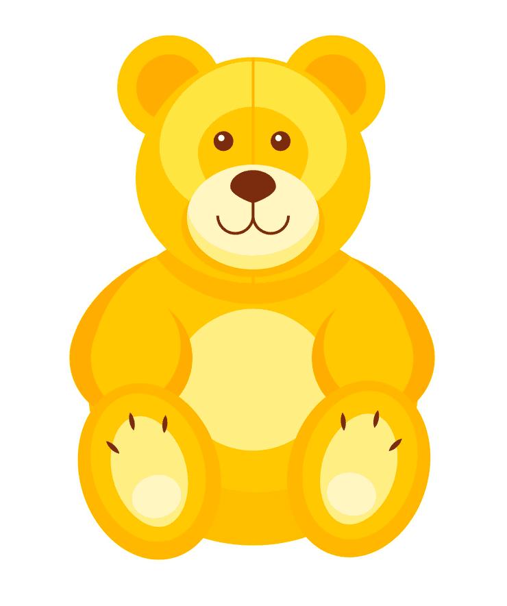 Teddy Bear clipart png 8