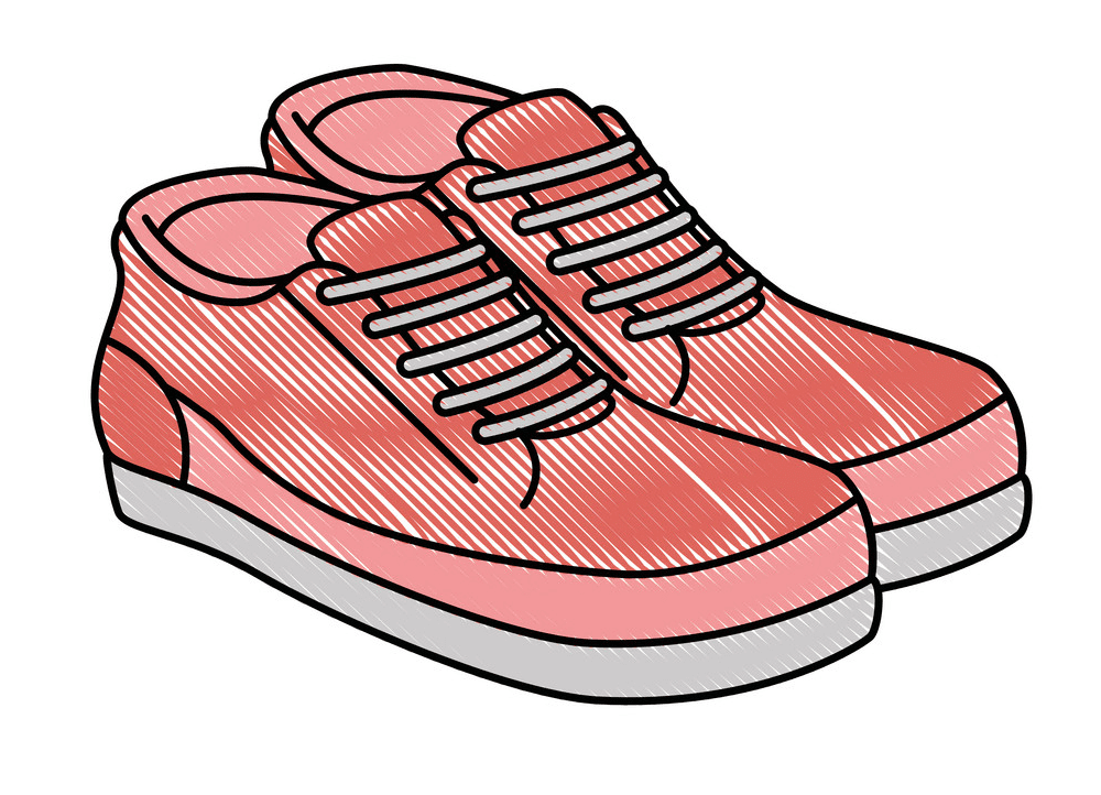 Tennis Shoes clipart for free