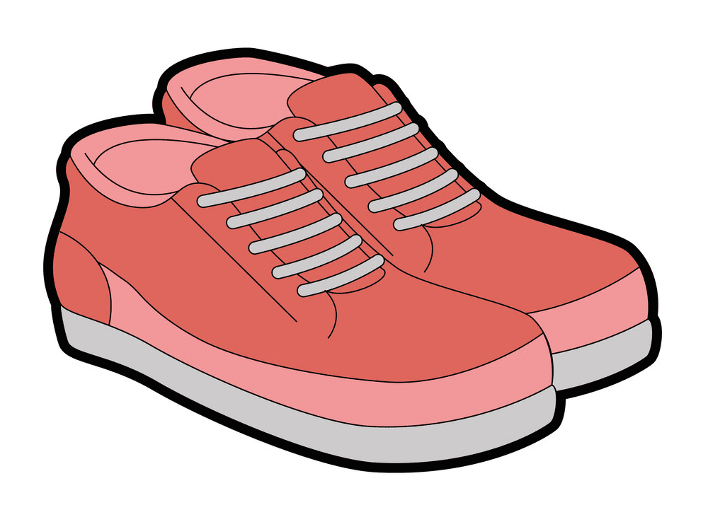 Tennis Shoes clipart free