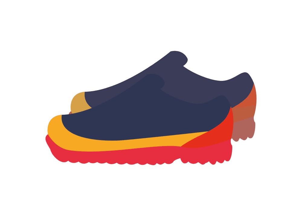 Tennis Shoes clipart image