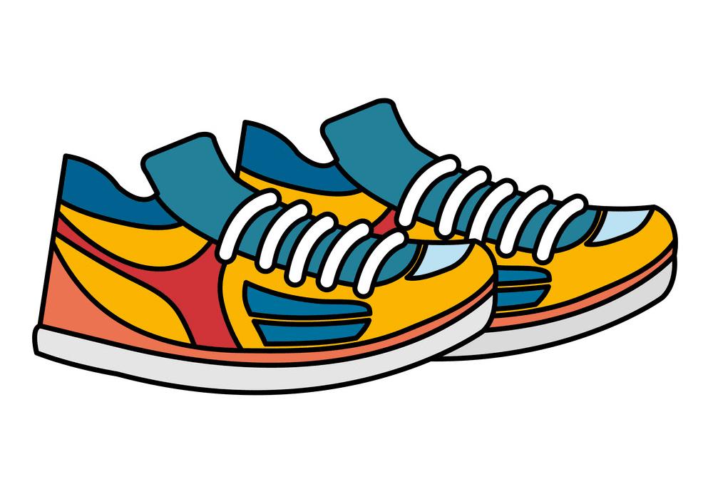 Tennis Shoes clipart images