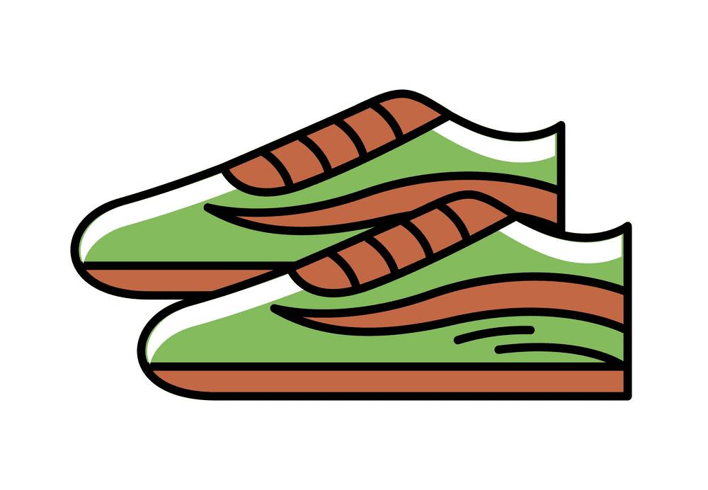 Tennis Shoes clipart png image