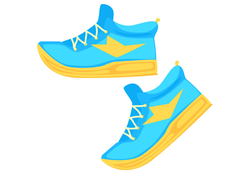 Tennis Shoes clipart png