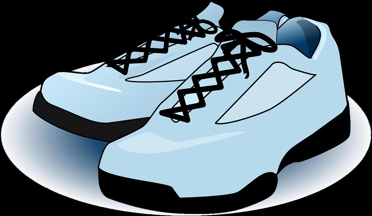 Tennis Shoes clipart transparent
