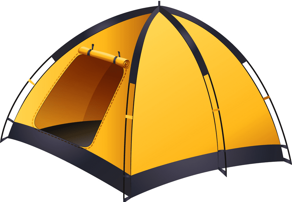Tent clipart for free