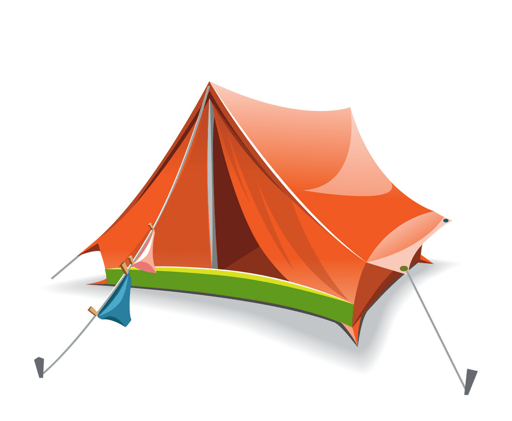 Tent clipart image