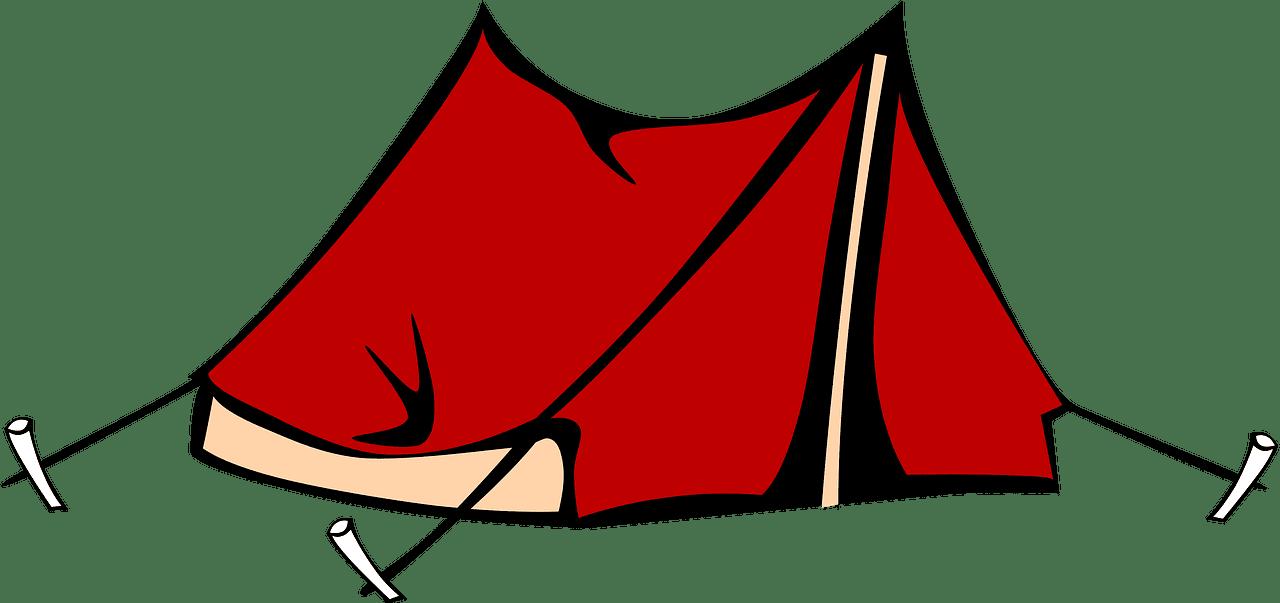 Tent clipart transparent background 1