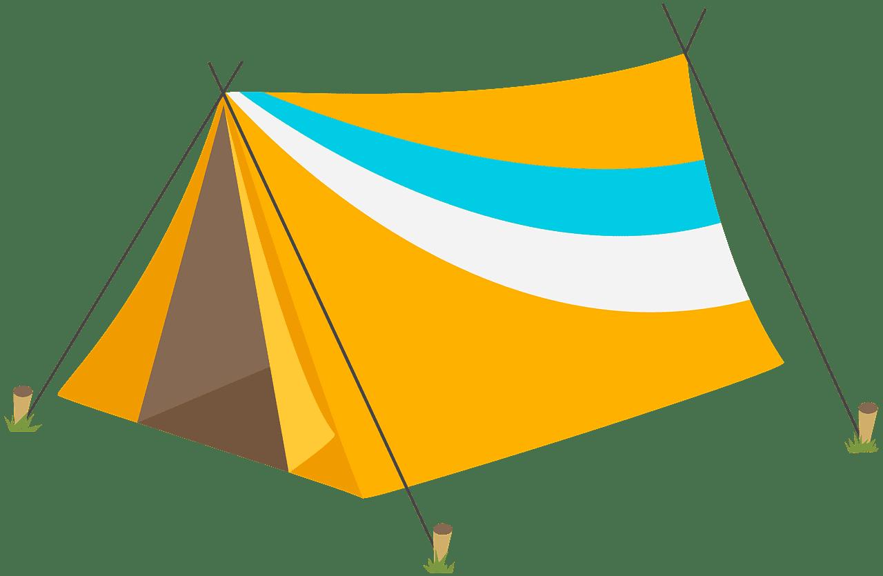 Tent clipart transparent background 2
