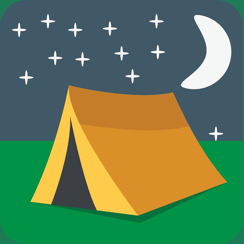 Tent clipart transparent background 4