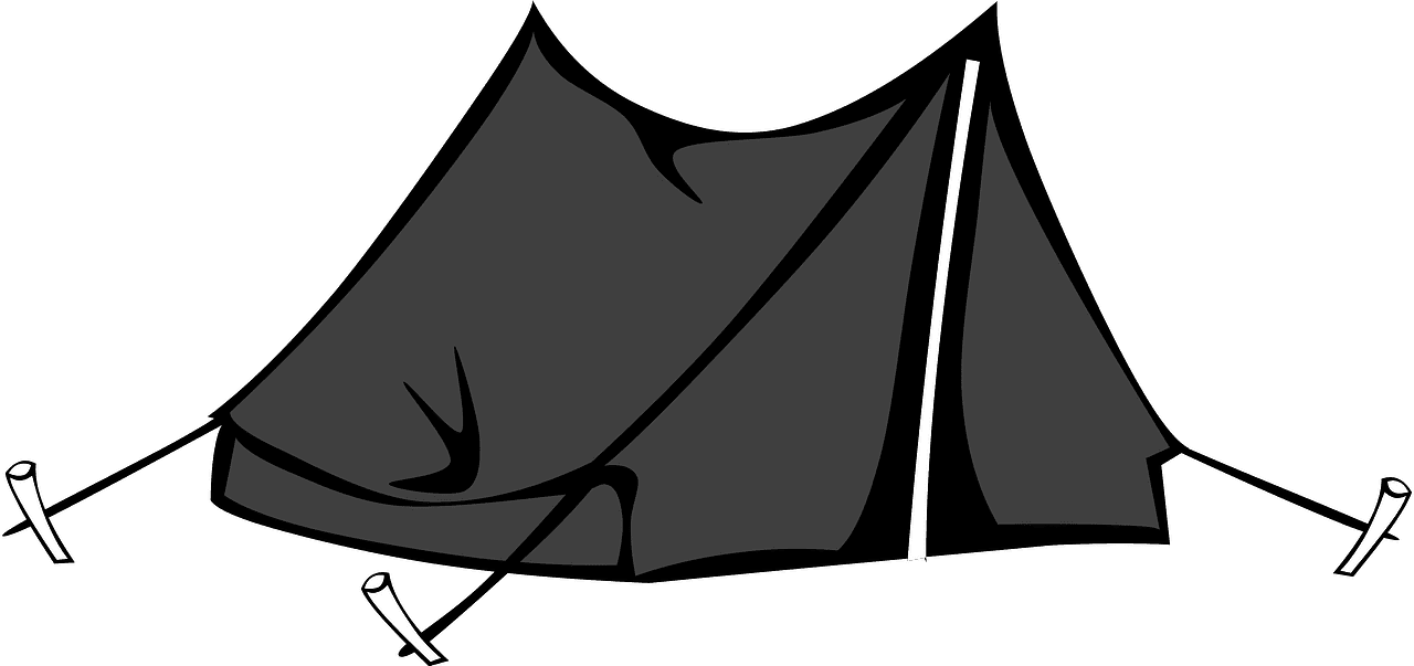 Tent clipart transparent background