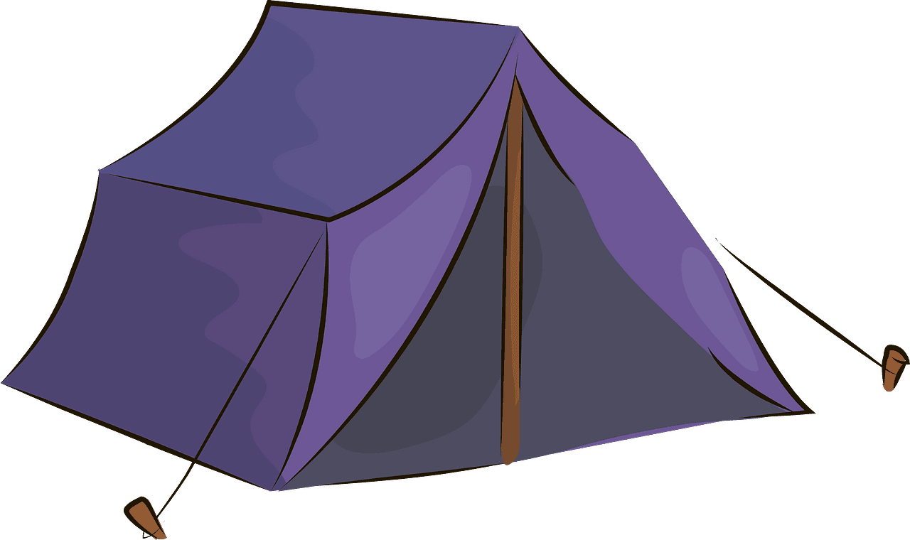 Tent clipart transparent for free