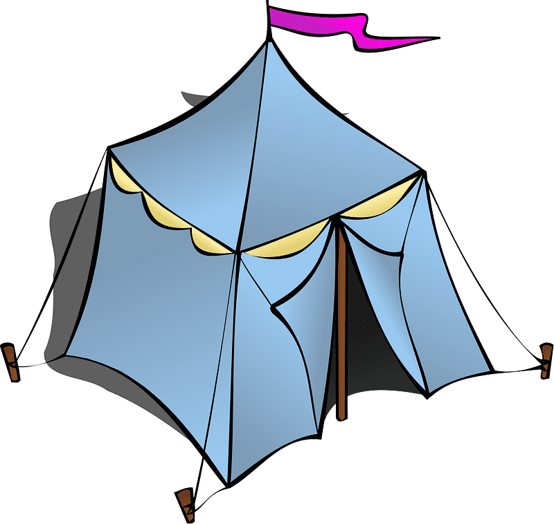 Tent clipart transparent free image