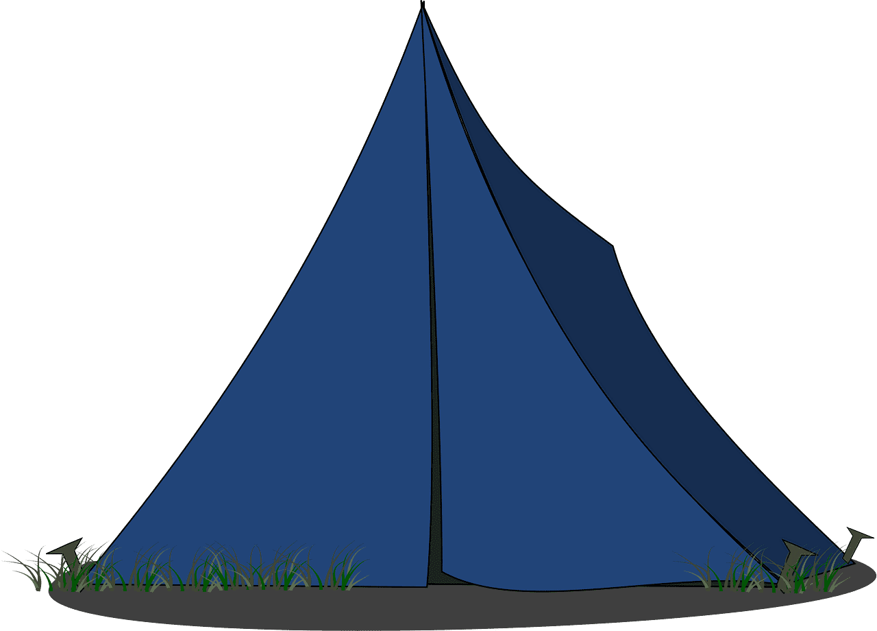 Tent clipart transparent png free