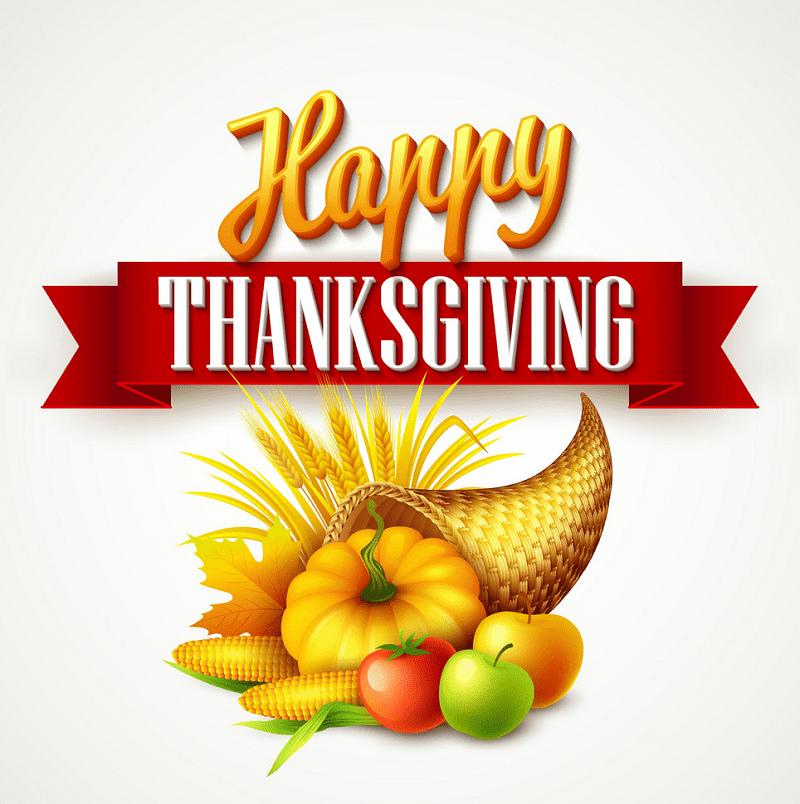 Thanksgiving Cornucopia clipart 1