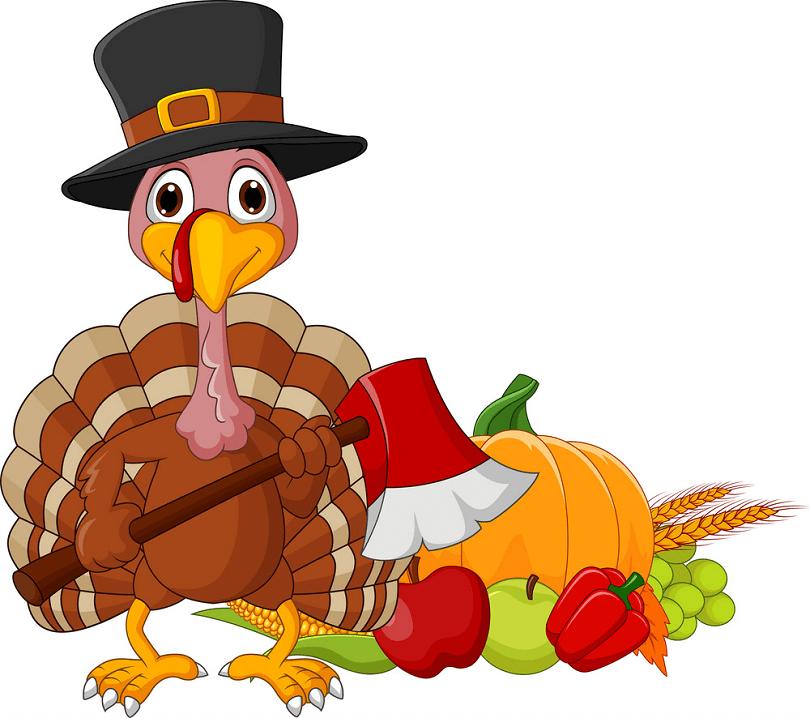 Thanksgiving Cornucopia clipart free image