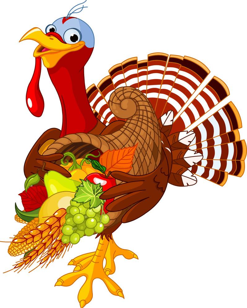 Thanksgiving Cornucopia clipart png free