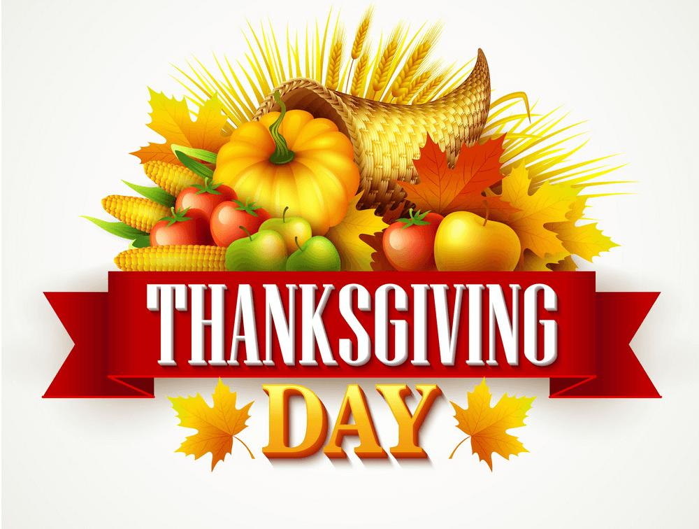 Thanksgiving Cornucopia clipart png image