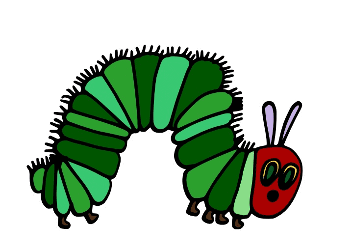 The Very Hungry Caterpillar clipart png