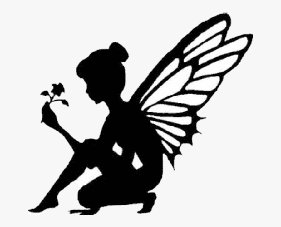 Tinkerbell Silhouette clipart free images