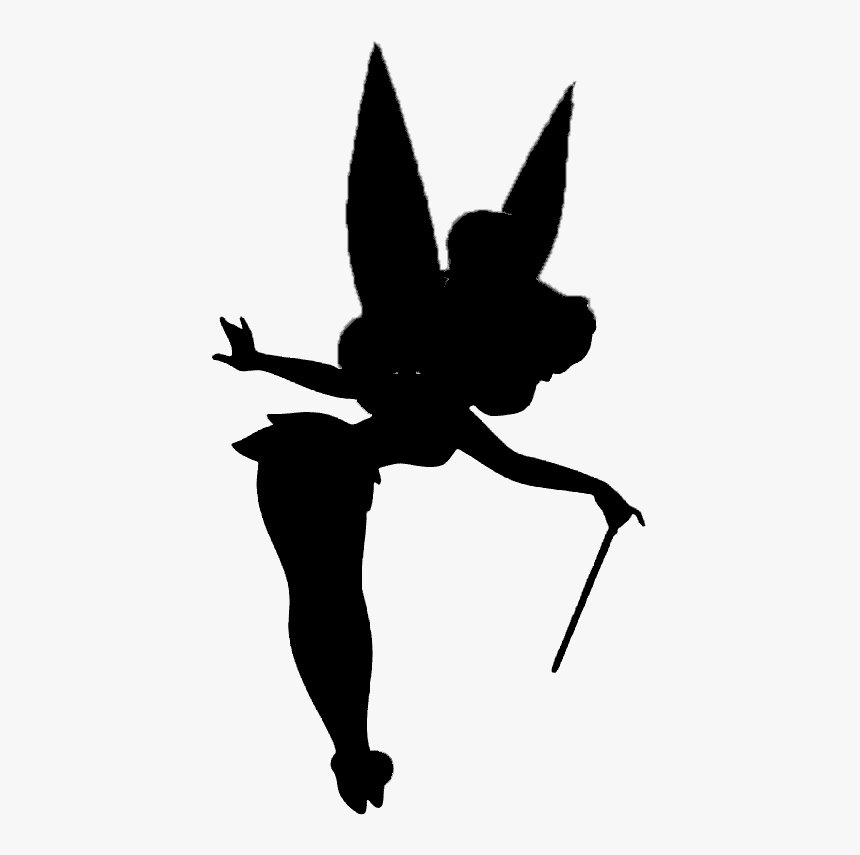 Tinkerbell Silhouette clipart