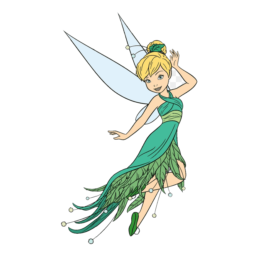 Tinkerbell clipart 7