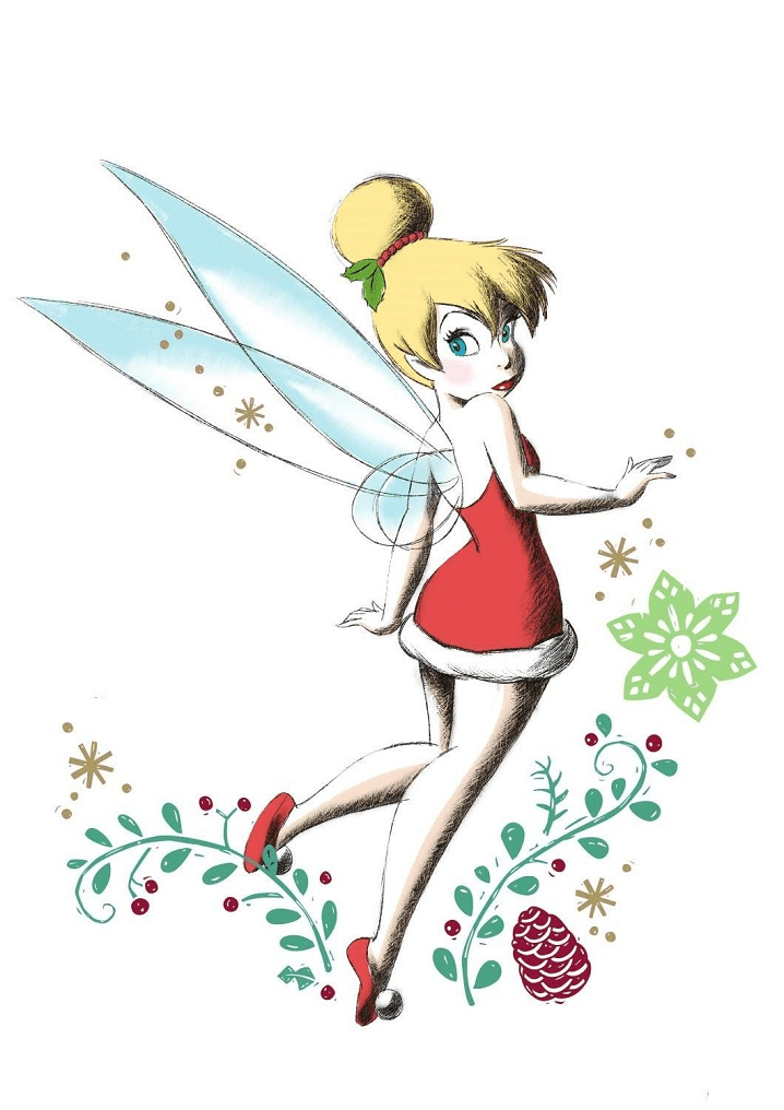 Tinkerbell clipart images 4