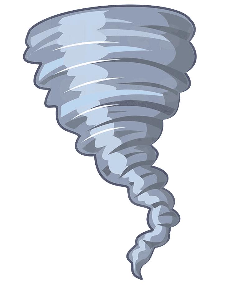 Tornado clipart free 6