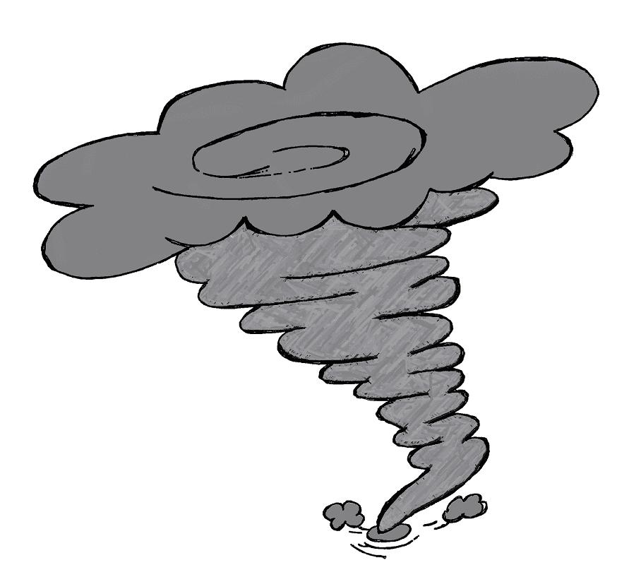 Tornado clipart free 7