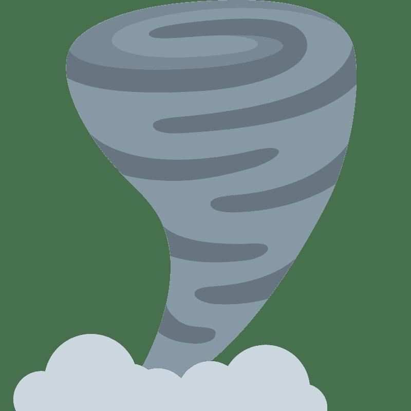 Tornado clipart transparent 12