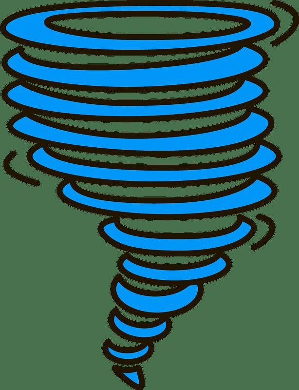 Tornado clipart transparent 7