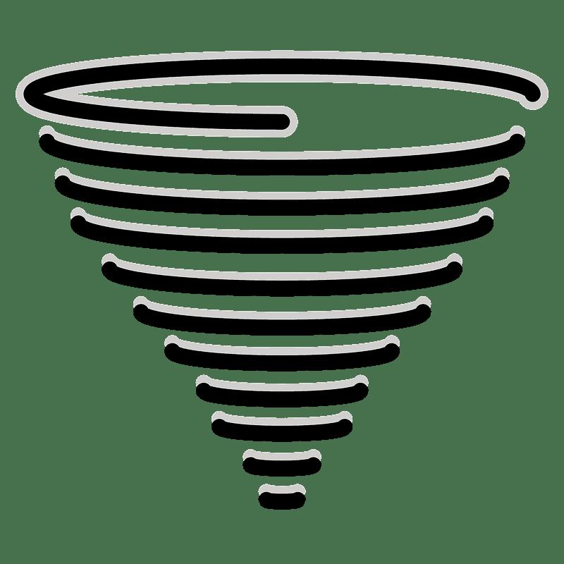 Tornado clipart transparent 9