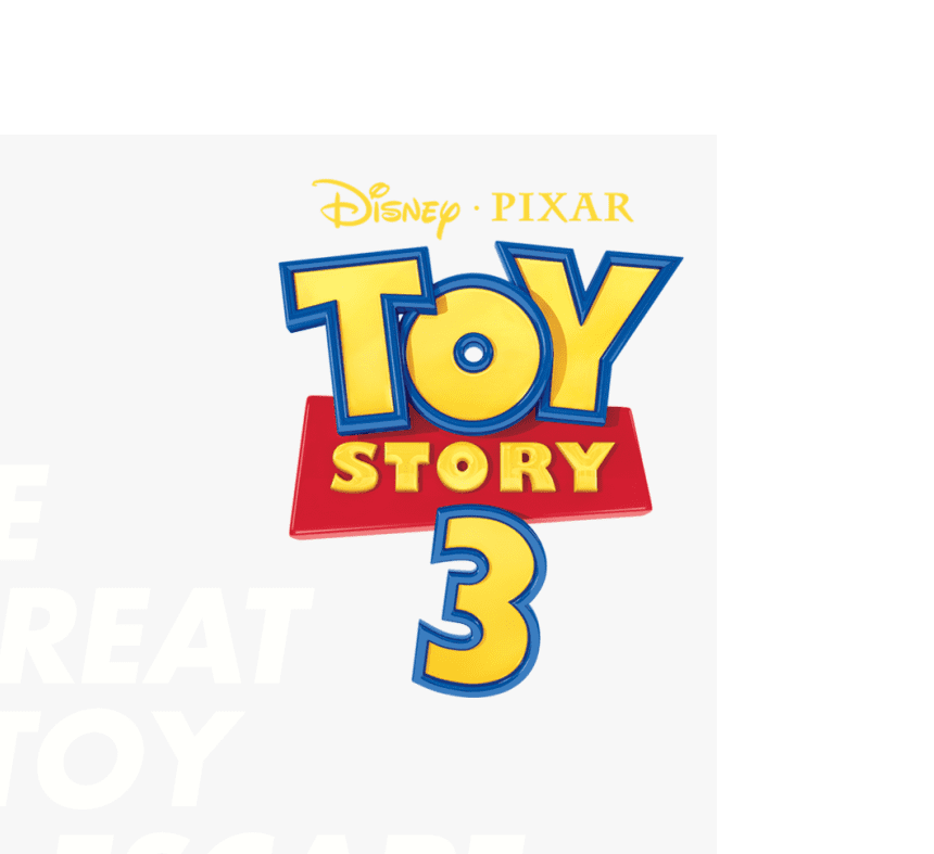 Toy Story 3 Logo clipart