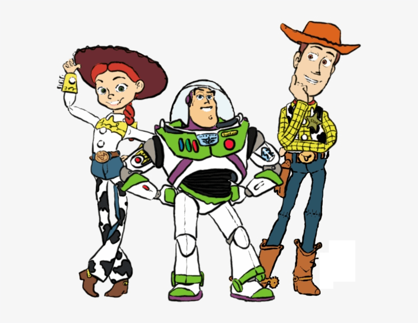 Toy Story Characters clipart 1