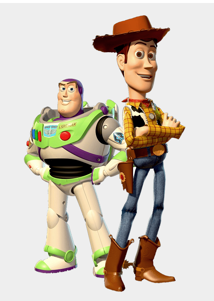 Toy Story Characters clipart free image