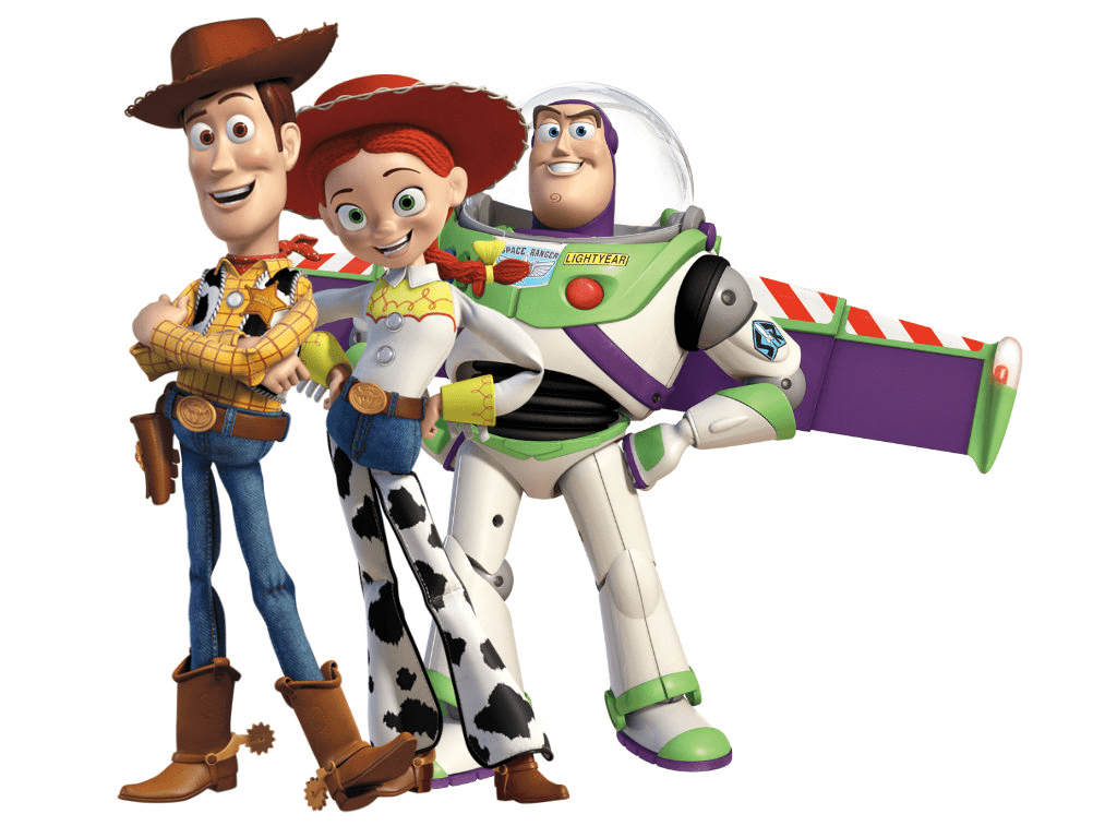 Toy Story Characters clipart image