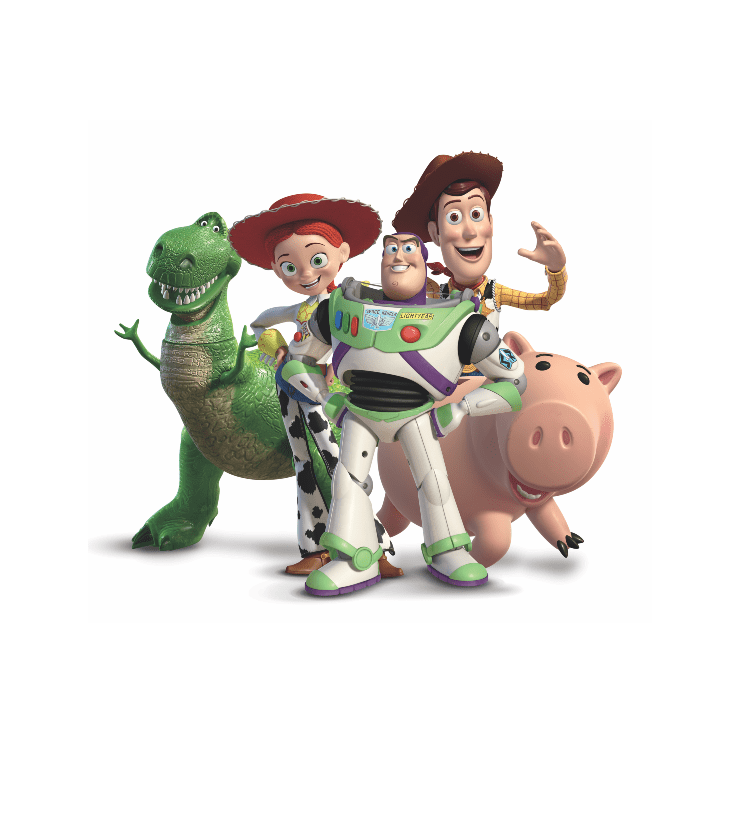 Toy Story Characters clipart images