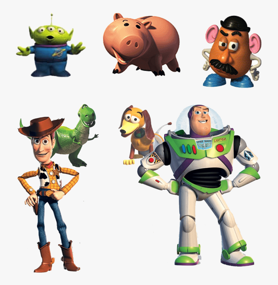 Toy Story Characters clipart png