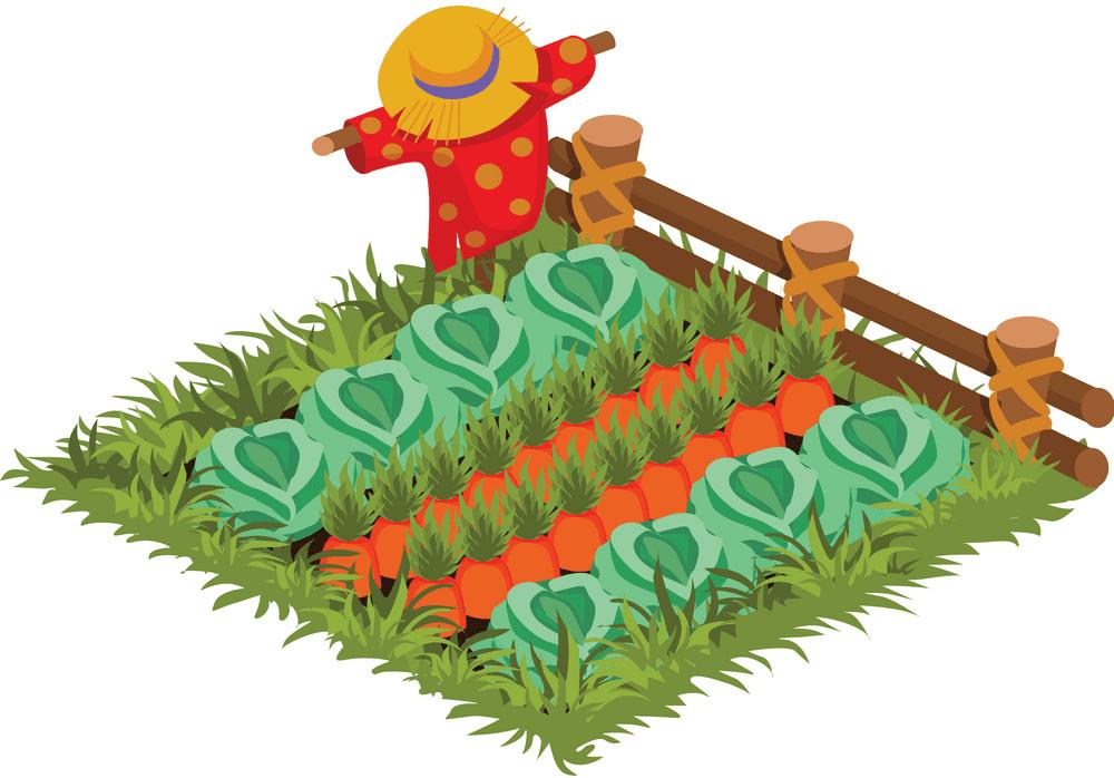Vegetable Garden clipart image