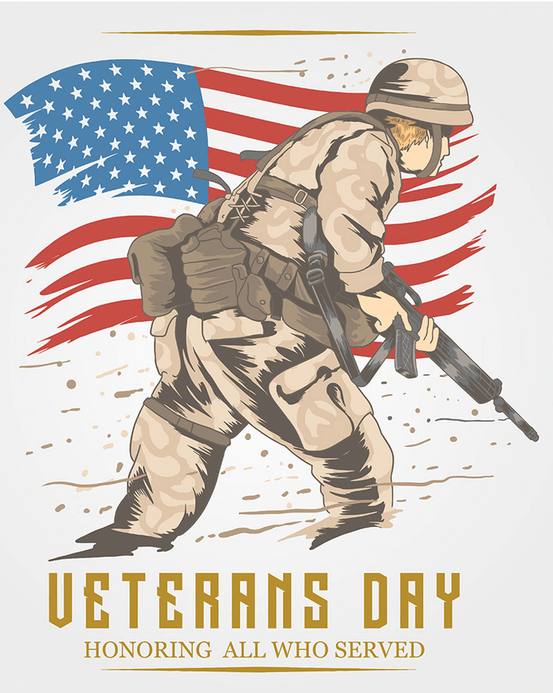 Veterans Day clipart free 13