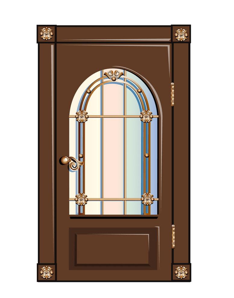 Vintage Door clipart