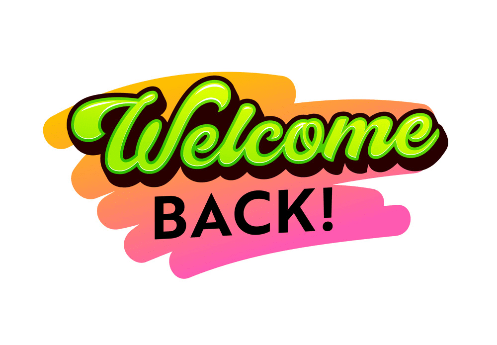 Welcome Back clipart - Clipart World