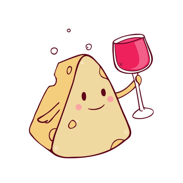Wine and Cheese clipart 1