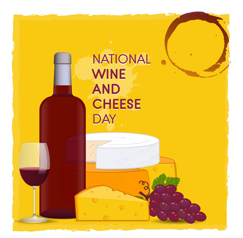 Wine and Cheese clipart 10